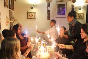 anniversaire à l'abyssinia café restaurant